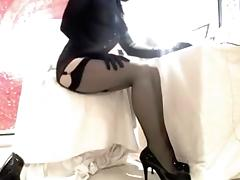 Exotic Homemade Shemale movie with Solo, Stockings scenes