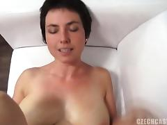 Mom, Amateur, Audition, Blowjob, Brunette, Casting