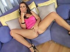 Best pornstar Maria Bellucci in fabulous blowjob, cunnilingus porn video