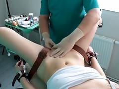 Latex, BDSM, Doctor, Gyno, Latex, Orgasm