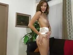 Sexy Nastka massaging pin