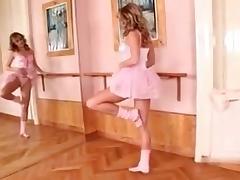 fisting ballerina