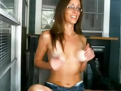 Horny Homemade video with Webcam, Masturbation scenes