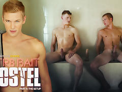 Alex Tanner A & Ty Thomas in STR8 Bait Hostel: The Setup - NextDoorWorld