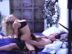Hottest pornstar Samantha Strong in crazy blonde, vintage porn clip