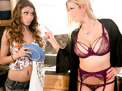 Rebel Lynn & Alexis Fawx in Chore Duty Part 1 - MommysGirl