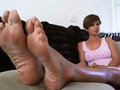 Sexy Feetfetish soles 1