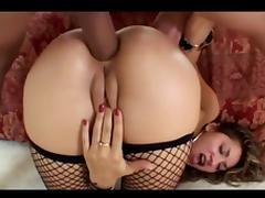 Double Penetration, Anal, Assfucking, Bitch, Cum, Double