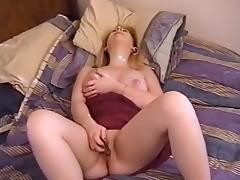 Fabulous pornstar Kaitlyn Moore in horny masturbation, blonde adult scene