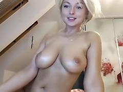 Big Tits, Big Tits, Blonde, Cute, Pretty, Webcam