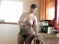 Fabulous Homemade record with Hairy, Big Tits scenes