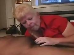 White grany having a priceless time with bbc