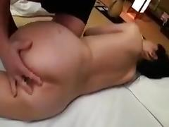 Lustful Asian housewife with a hot ass submits to every inc