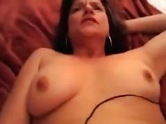 Cock sucking brunette loves to get her pussy drilled