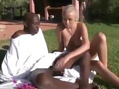 Blonde, Anal, Ass, Blonde, Hardcore, Interracial