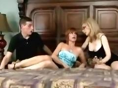 Best Homemade clip with Threesome, Stockings scenes