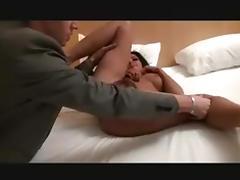 Hot escort hairy MILF anal