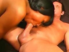 Incredible pornstar Amerie Dior in best blowjob, interracial adult video