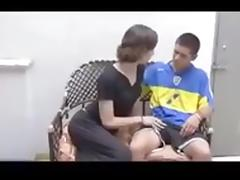 Beautiful Young CD Crossdresser Seduces Teen