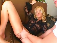 Exotic pornstar in amazing fetish, foot fetish porn scene