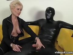 Masked Milking - Over40Handjobs