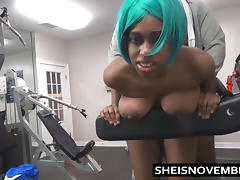 Fucked In The Public Gym By A Stranger Blowjob & Hardcore