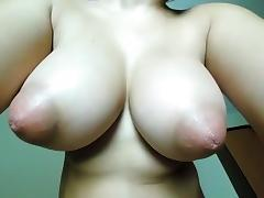 Cam large breasts that are oreol