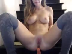 Crazy Homemade movie with Webcam, College scenes