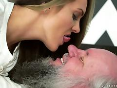 Old and Young, Blowjob, Couple, Cowgirl, Doggystyle, Fetish