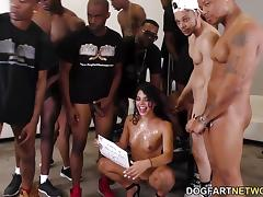 All, Bukkake, Group, Orgy