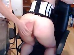 Sex on webcam blowjob and cum - junior couple
