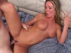 Incredible pornstar in horny cumshots, big tits porn clip