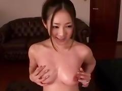 Pretty asian girl (blue satin panty scene)