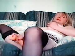 Best Amateur video with Stockings, Toys scenes