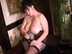 Amazing Homemade movie with Big Tits, Lingerie scenes