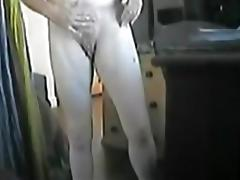 Hidden cam caught my mom masturbating