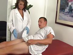 Sexy Nurse Cassidy Helps Man Who Took Viagra
