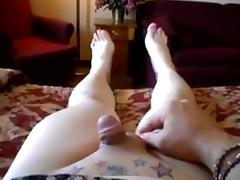 My favourite - pink nail polish small cock masturbation