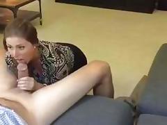 Sucking Coworker's Cock