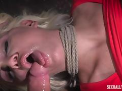 bondaged milf kenzie taylor fucked hard by the master
