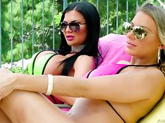 Unforgettable group sex with Juelz Ventura and alluring Jasmine Jae