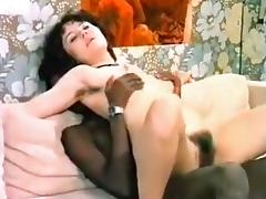 Horny Amateur record with Interracial, Vintage scenes