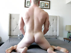 Muscle, Big Cock, Blonde, Fucking, Muscle, Skinny