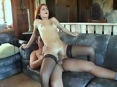 Hottest Homemade Shemale record with Stockings, Small Tits scenes