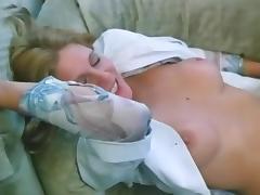 Fabulous pornstar Cris Cassidy in crazy vintage, blonde xxx clip