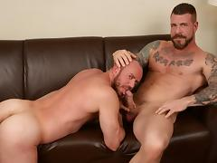 Rocco Steele and Matt Stevens - BarebackThatHole
