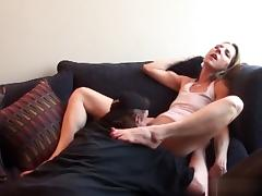 Best pornstars Marie Madison and Stella Marie in incredible creampie, brunette xxx movie