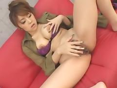 Hottest Japanese whore Nanami Takase in Exotic Masturbation, Dildos/Toys JAV movie