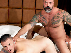 Scotty Rage and Max Cameron - BarebackThatHole