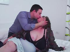 Big mature mother eats son s sperm after sex
